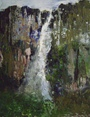 Angels Waterfall - Oil  painting on canvas - Viorica Ciucanu.jpg