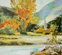 Autumn Landscape  - Oil  painting on canvas - Viorica Ciucanu (2).JPG
