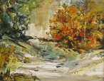 Autumn Landscape  - Oil  painting on canvas - Viorica Ciucanu (4).jpg