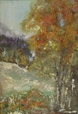 Autumn Landscape  - Oil  painting on cardboard - Viorica Ciucanu.JPG