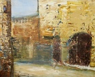 Barcelona Impression - Oil  painting on canvas - Viorica Ciucanu.jpg