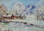 Winter Landscape  - Oil  painting on canvas - Viorica Ciucanu.jpg